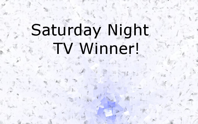 Title for article about Saturday Night TV on theshp.net